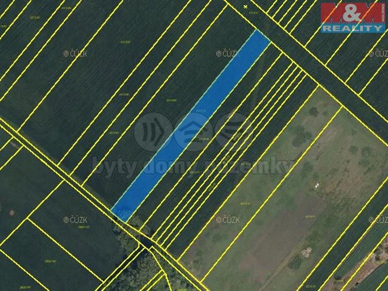 Prodej, pole, 3314 m2, Velké Bílovice