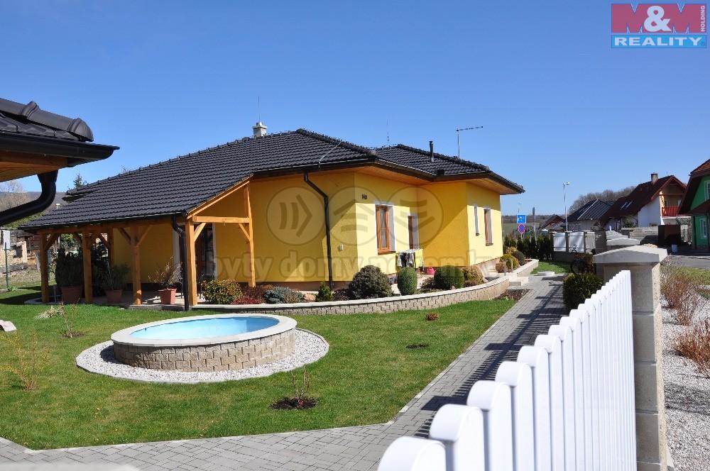 Prodej, rodinný dům, 3+1, 1040 m2, Lom, ul. Šrámkova