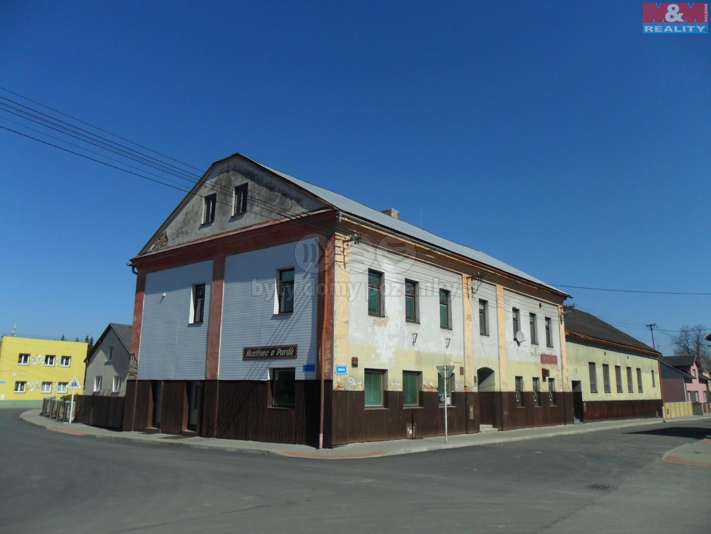 Prodej, komerční objekt, 700 m2, Oldřišov, ul. Zámecká