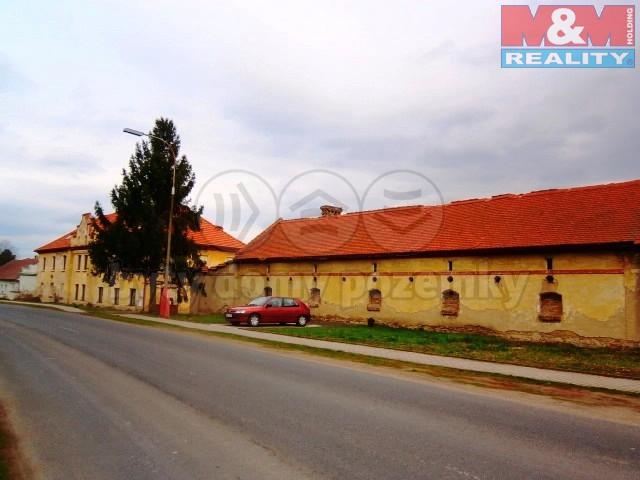 Prodej, zemědělská usedlost, 4118 m2, Židovice nad Labem