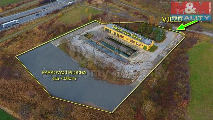 Pronájem, provozní plocha, 8706 m2, Praha 5 - Zličín