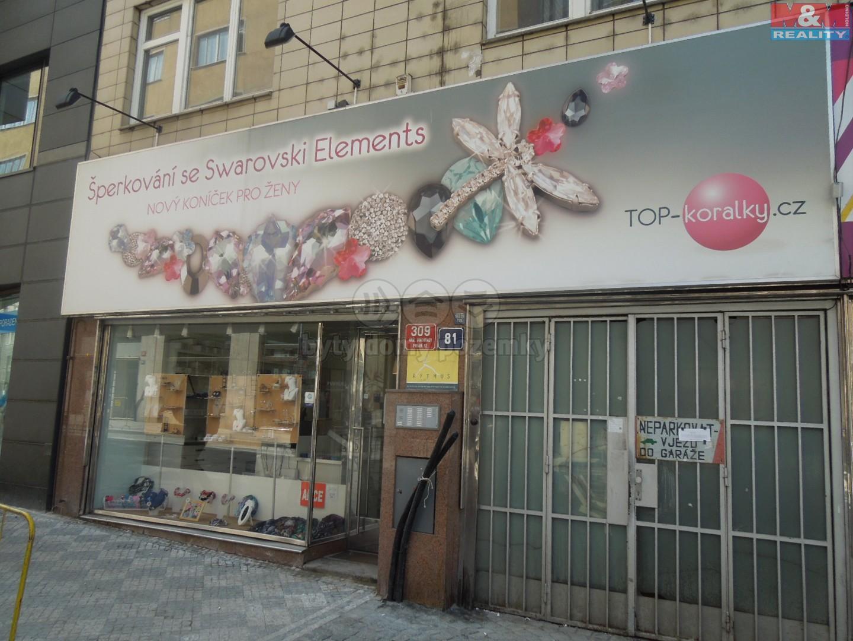Pronájem, obchod, 65 m2, Praha 2 - Vinohrady, ul. Londýnská