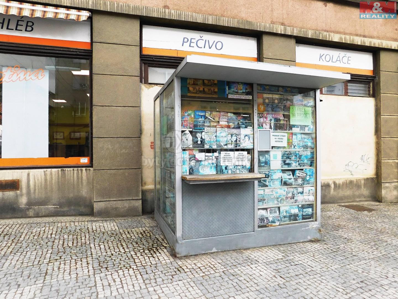 Prodej, stánek, 7 m2, Opava, ul. Masarykova třída