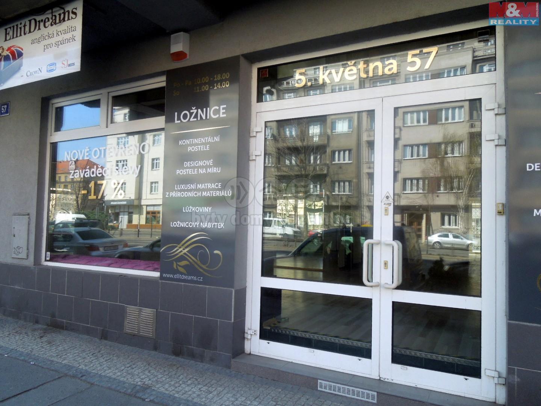 Pronájem, obchod 239 m2, Praha 4 - Pankrác, ul 5. Května