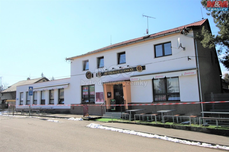 Prodej,restaurace/byt 4+kk,/autodílna, Mirošovice, Spojovací