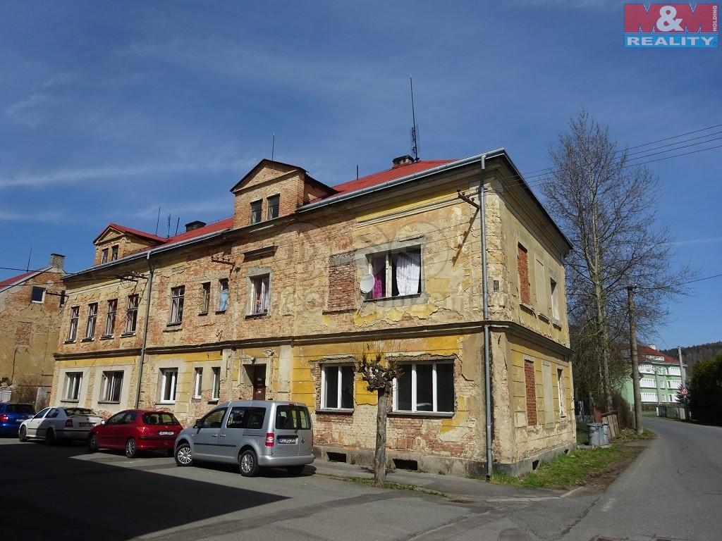Prodej, bytový dům, 6 BJ 2+1, Kynšperk nad Ohří