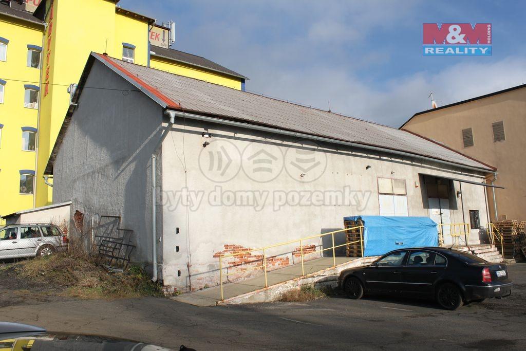 Prodej, sklad, 361 m2, Karlovy Vary, ul. Chebská