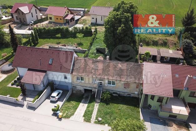 Prodej, rodinný dům, 3+1, 533 m2, Hajany, okr.Brno-venkov