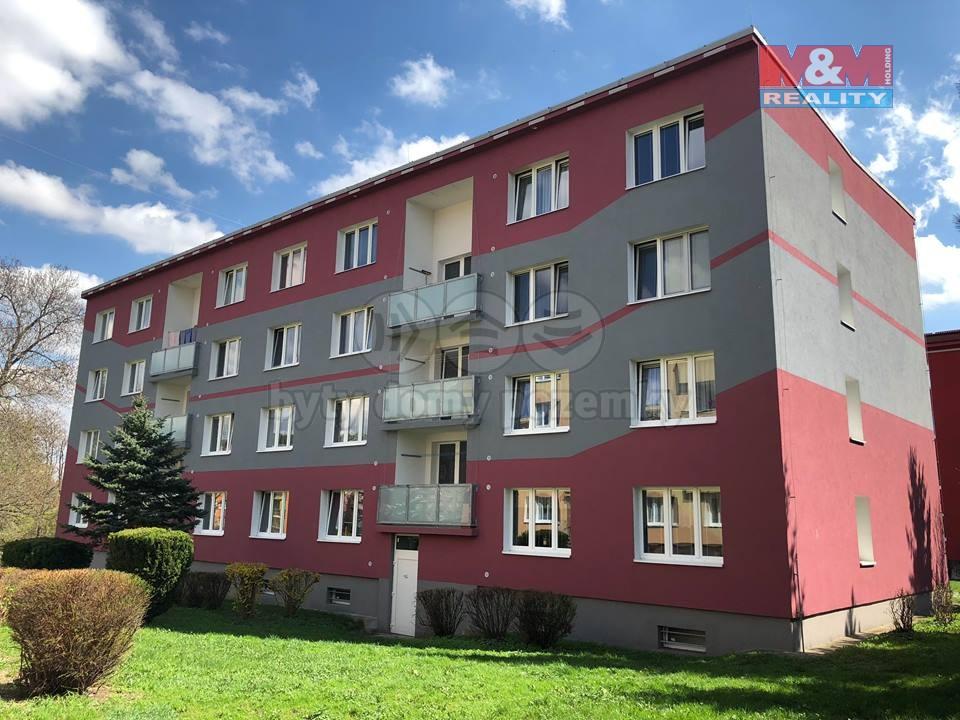 Pronájem, byt 1+1, 36 m2, OV, Jirkov, ul. Vinařická