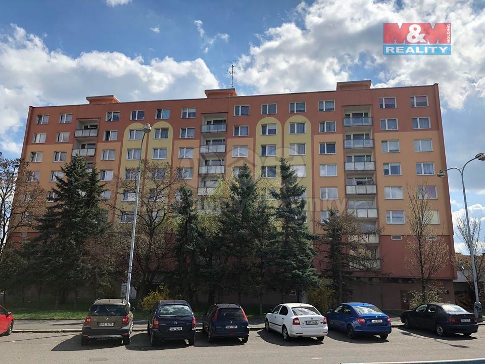 Pronájem, byt 1+1, OV, 36 m2, Chomutov, ul. Písečná