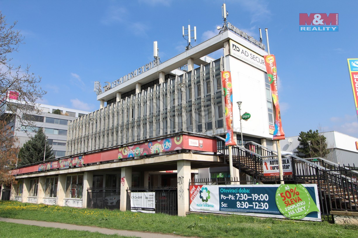 Pronájem, sklad, 779 m2, Brno - Žabovřesky
