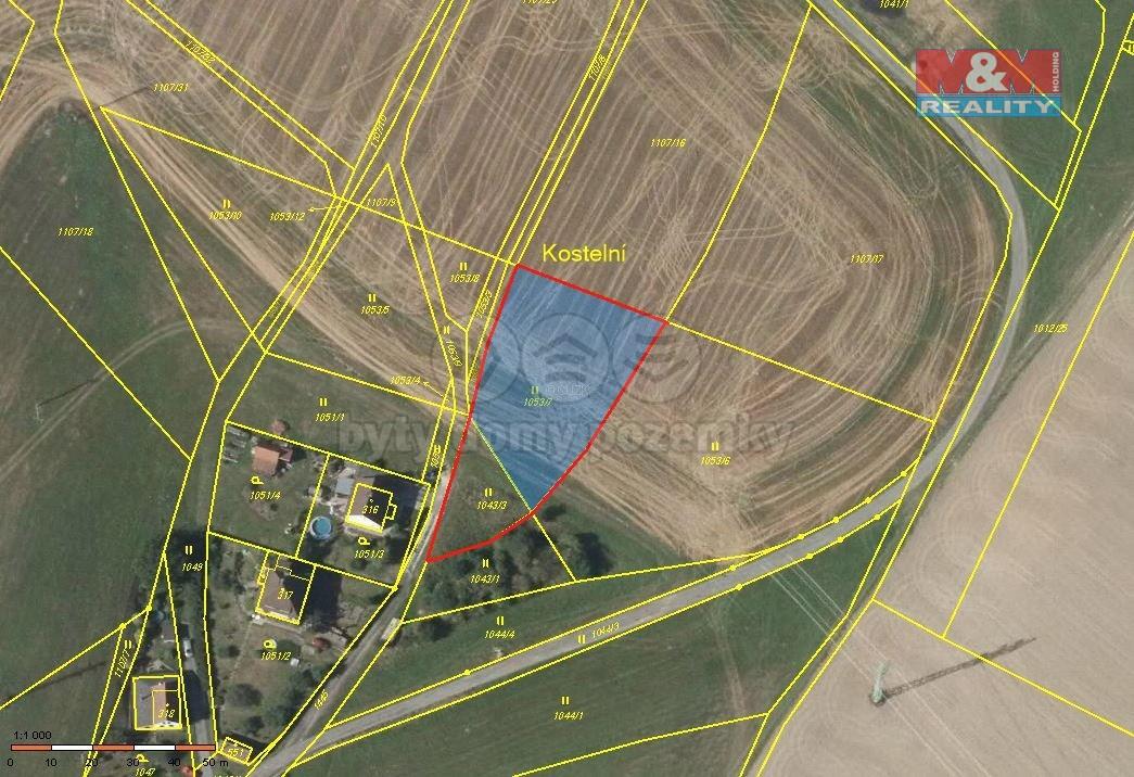 Prodej, stavební pozemek, 694 m2, Řetová