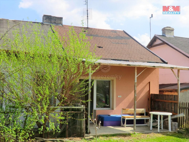 Prodej, rodinný dům, 60 m2, Lom, ul. Hornická