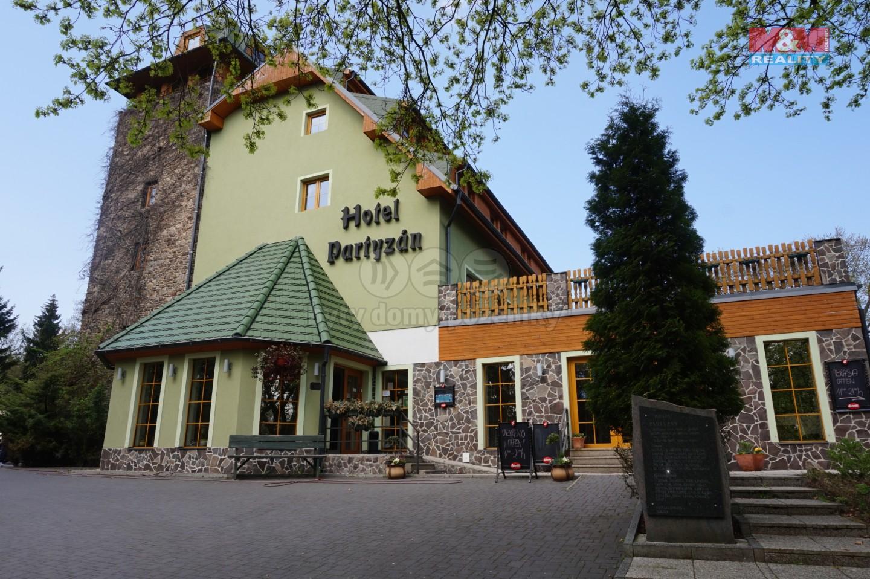 Prodej, hotel Partyzán, Chomutov - Vrch Strážiště