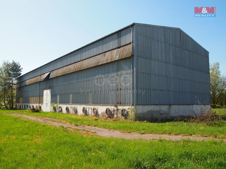 Prodej, hala 1122 m2, Benešov, Maršovice