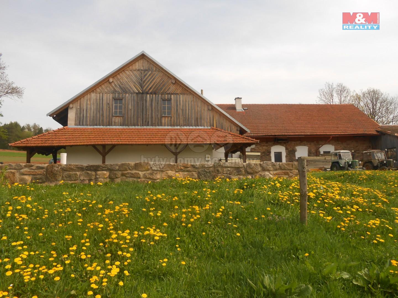 Prodej, zemědělská usedlost, 2574 m2, Dolní Dobrouč