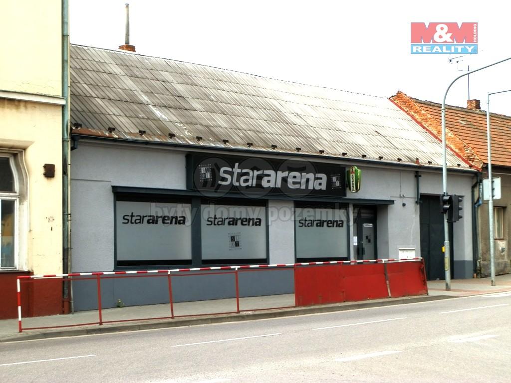 Prodej, obchodní objekt, Chlumec nad Cidlinou, ul. Pražská