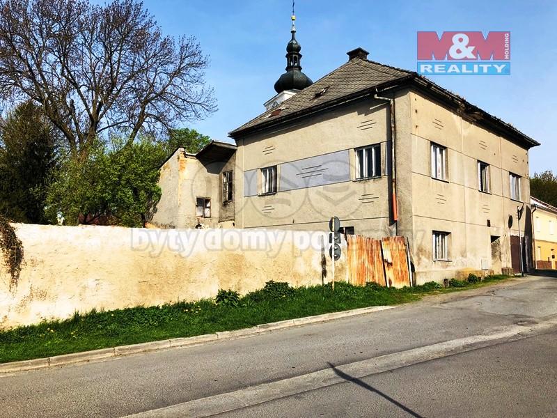 Prodej, rodinný dům, 500 m2, Moravský Beroun, ul. Lidická