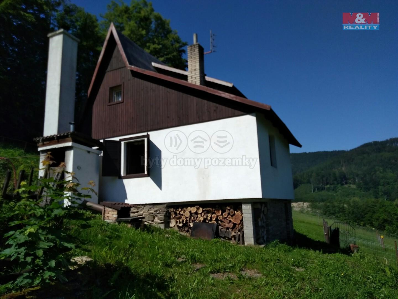 Prodej, chata, 100 m2, Řeka, pozemek, 848 m2