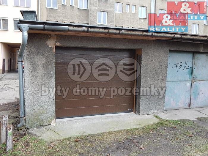 Prodej, garáž, Moravská Ostrava, ul. Křižíkova