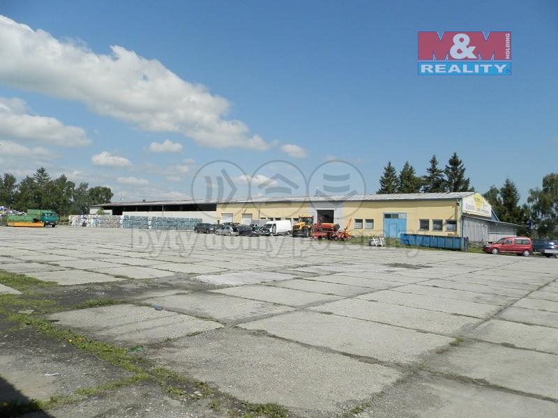 Prodej, provozní plochy 20 842 m2, Bruntál