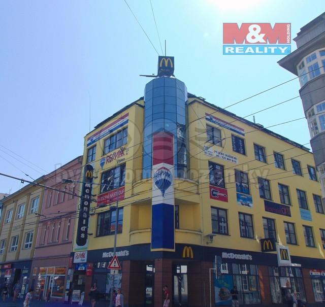 Pronájem, kancelář, 81 m2, Ústí nad Labem,ul. Mírové náměstí