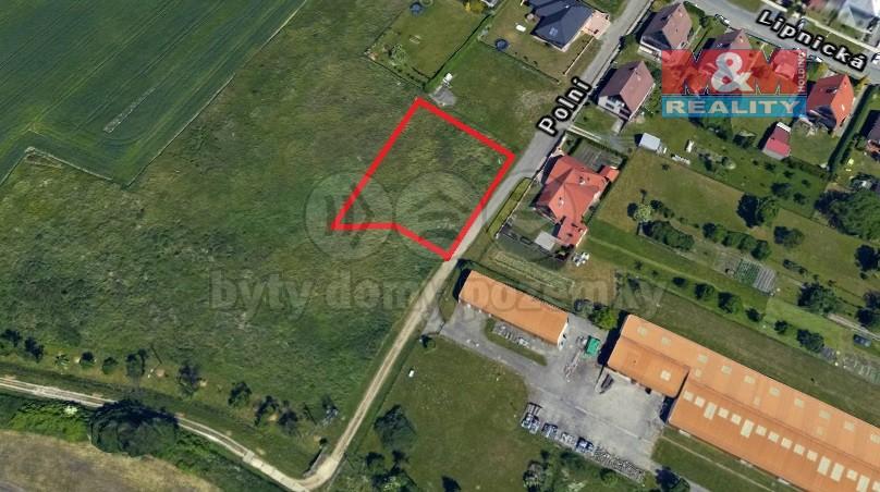 Prodej, pozemek, Bystřice pod Hostýnem, ul. Polní