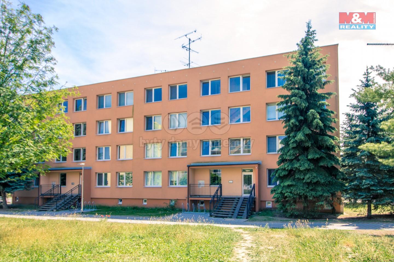Prodej, byt 3+kk, 78 m2, lodžie, panel, OV, Nymburk