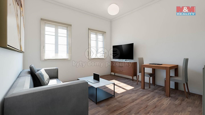 Prodej, byt 1+kk, 25m2, OV, Praha 2 - Nové Město