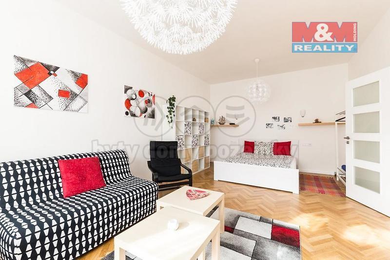 Pronájem, byt 2+kk, 56 m2, Praha 6 - Dejvice