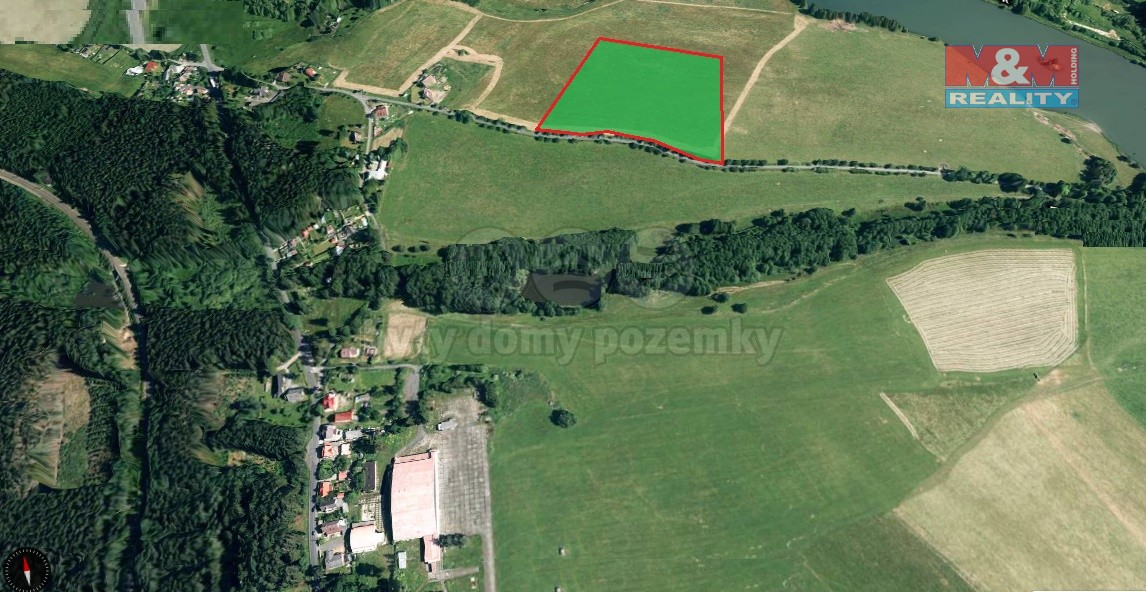 Prodej, pole 49745 m2, Chotěnov-Skláře