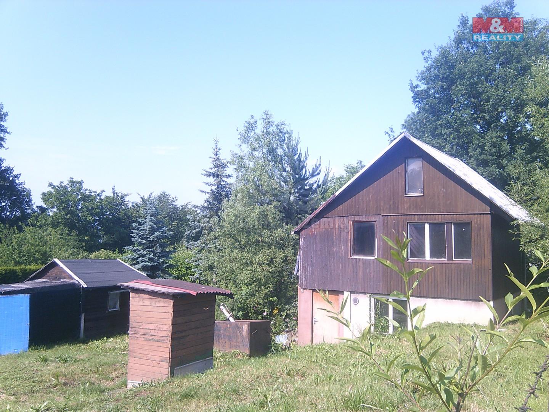 Prodej, zahrada, 419 m2, Prostřední Suchá, chatka