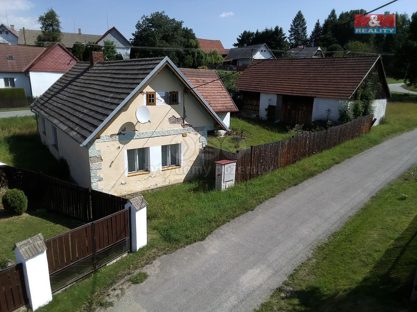Prodej, rodinný dům 2+1, Svatava u Černovic