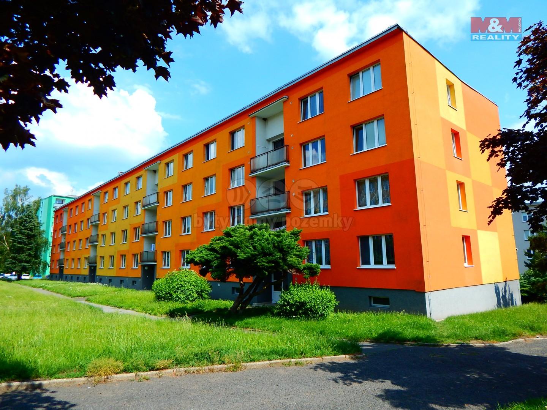 Prodej, byt 1+1, DV, 36 m2, Klášterec n/O., ul. 17.listopadu
