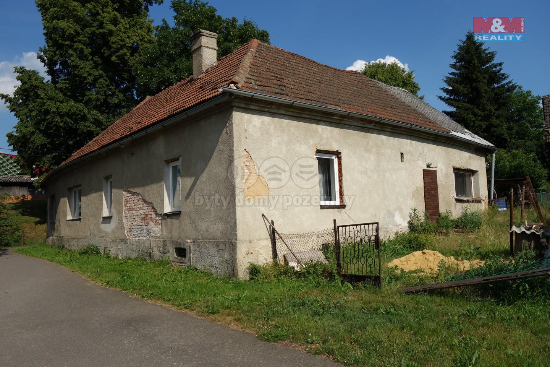 Prodej, rodinný dům 3+1, Mladějov na Moravě