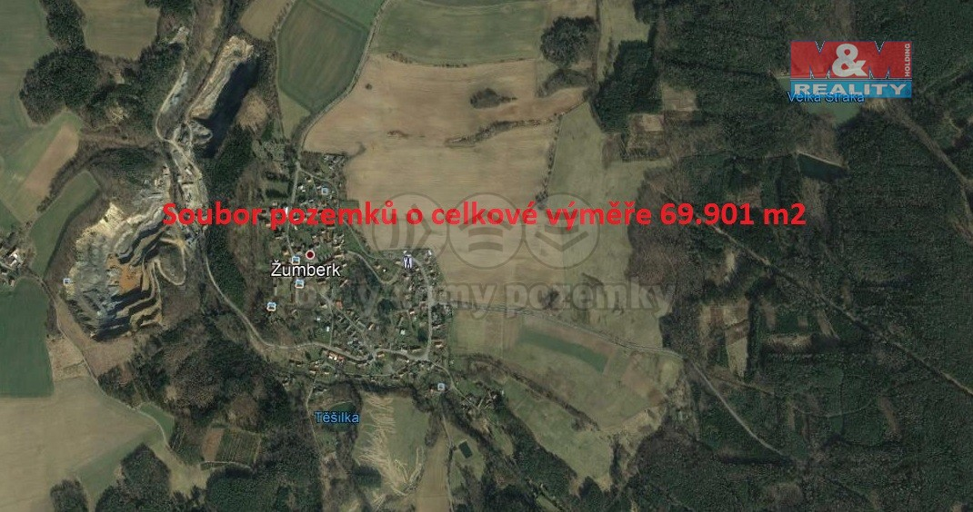 Prodej, pole, 69901 m2, Žumberk