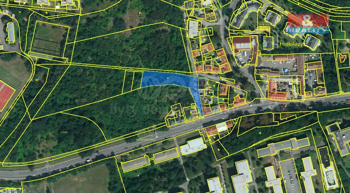 Prodej, pozemek, 2617 m2, Praha - Hrdlořezy