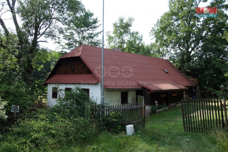 Prodej, chalupa, 4+kk, 3631 m2, Hamry,