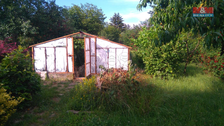 Prodej, zahrada s chatou, 353 m2, Holešov