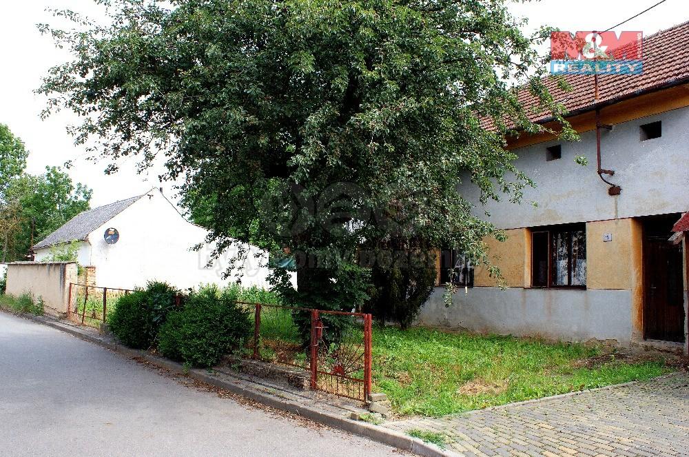 Prodej, rodinný dům 2+1, 650 m2, Brankovice, ul. B.Němcové
