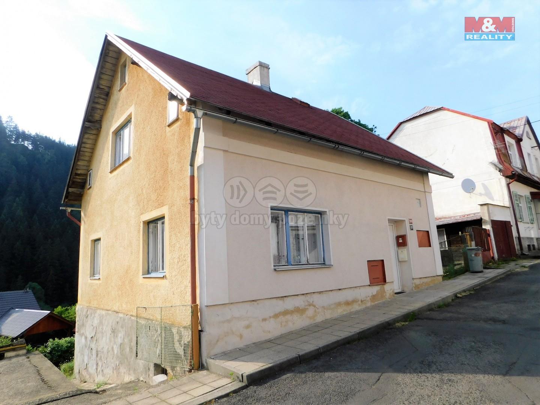 Prodej, rodinný dům, 3+1, 80 m2, Kraslice,ul.Horní předměstí