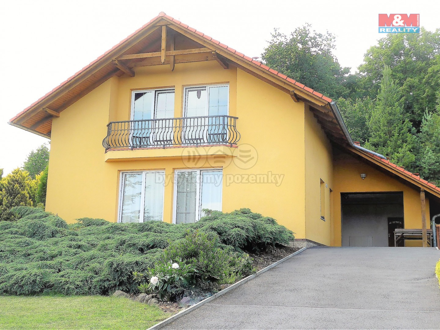 Prodej, rodinný dům 5+1, 1694 m2, Hájek
