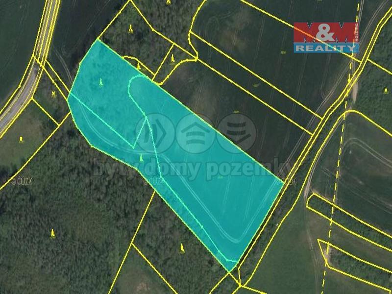 Prodej, pozemek, 15077 m2, Kadov