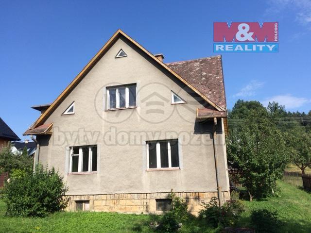 Prodej, rodinný dům 6+2, Zubří