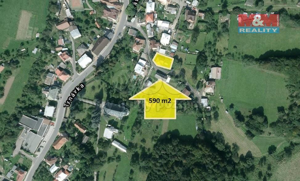 Prodej, stavební pozemek, 590 m2, Trnava