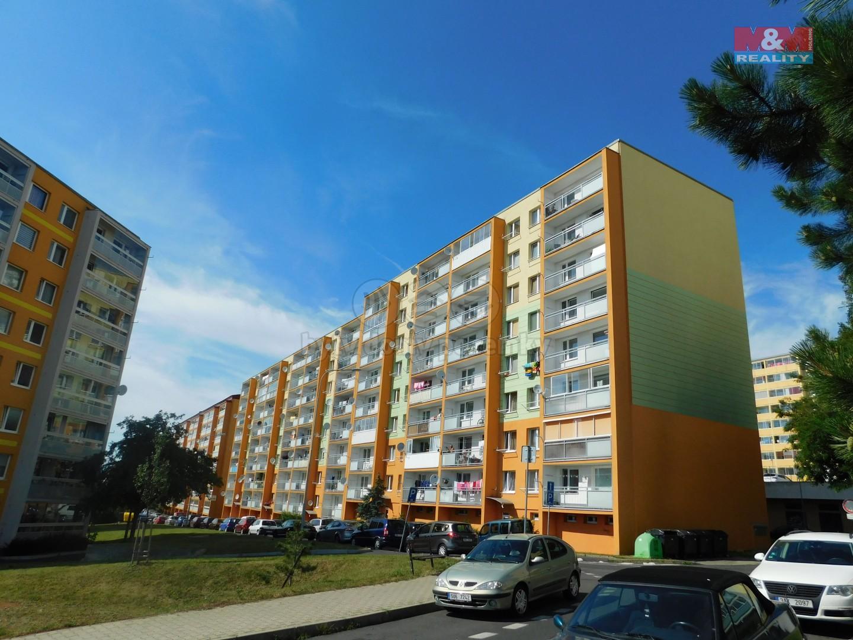 Pronájem, byt 2+kk, 39 m2, Most, ul. Karla Marxe