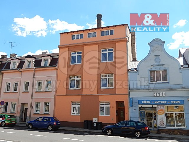 Pronájem, byt 2+1, 74 m2, Děčín, ul. Kamenická
