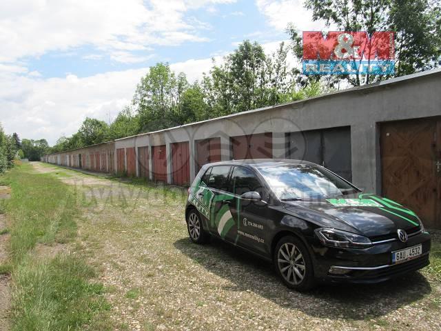 Prodej, garáž, 18 m2, Pardubice - Popkovice