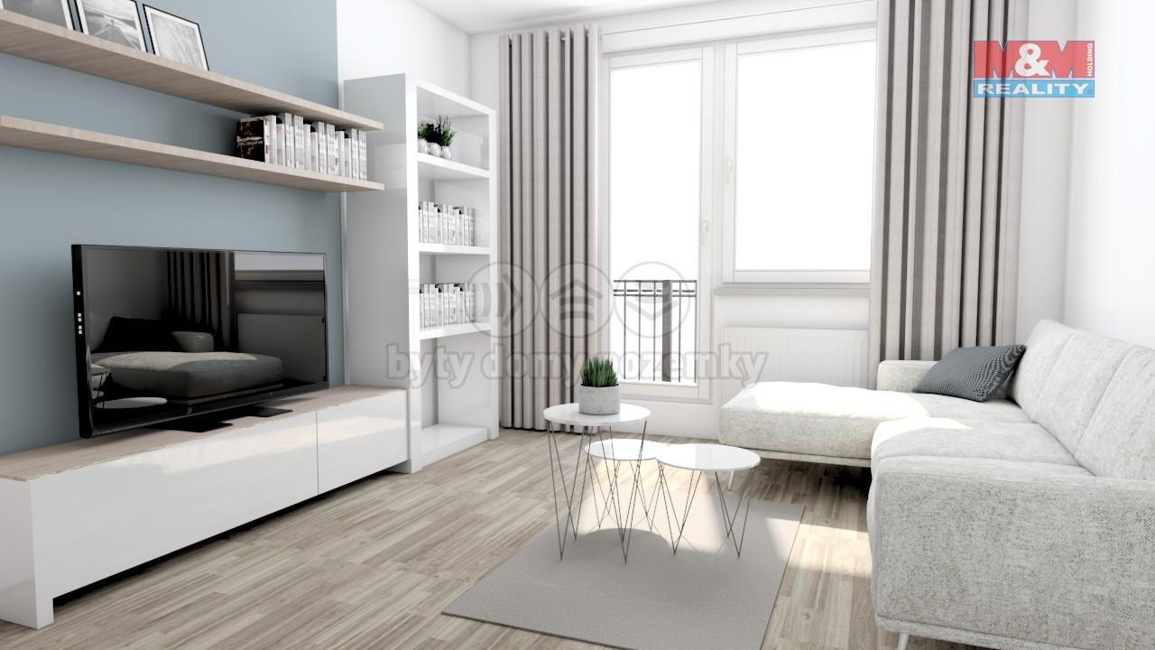Prodej, byt 2+1, Brno - Komín, ul. Řezáčova