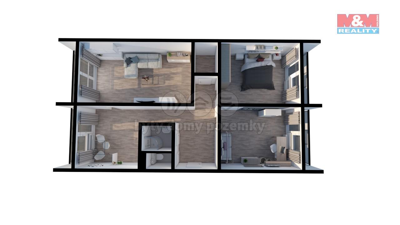 Prodej, byt 3+1, Hradec Králové, ul. třída Edvarda Beneše